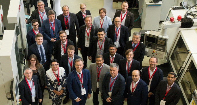 Teilnehmer der neunten Lernfabrikkonferenz / Participants of the ninth learning factory conference