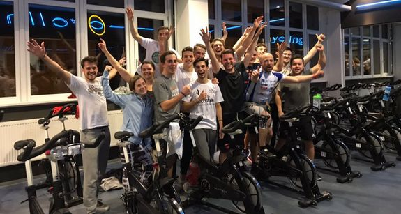 Das ESB Cycling for Charity Team 2018