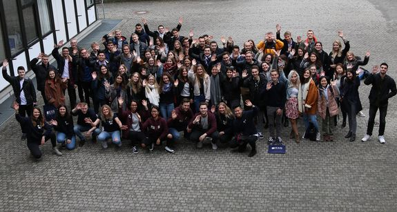 "Neu an der ESB Business School: Die ""Erstis"" im Bachelor International Business / Welcome to the new International Business students!"