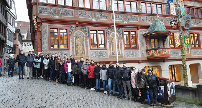 Exkursionstag im Master International Management. / Excursion day for the MIM students.